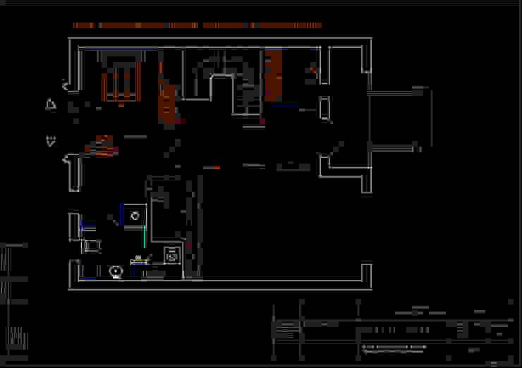 План расположения мебели, приборов и оборудования 1 этаж. от Мария Остроумова