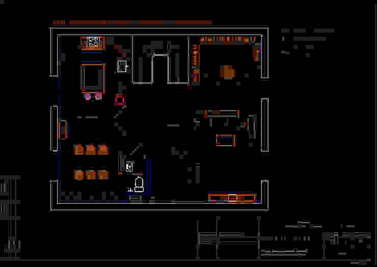 План расположения мебели, приборов и оборудования 2 этаж. от Мария Остроумова