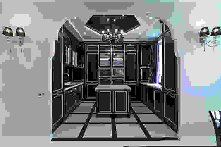 Cocinas de estilo moderno de Архитектурная студия Сенчугова Алексндра Moderno