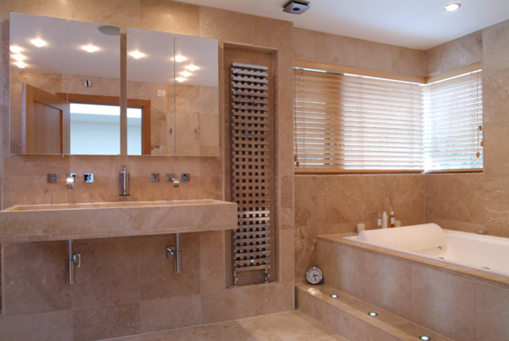 'Lofties' Nottinghamshire Minimalist bathroom by Rayner Davies Architects Minimalist