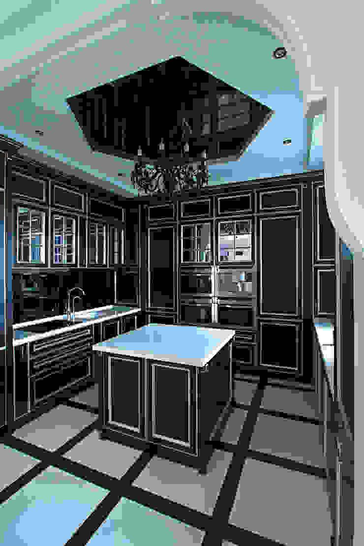 По мотивам Ар Деко Кухня в стиле модерн от Архитектурная студия Сенчугова Алексндра Модерн