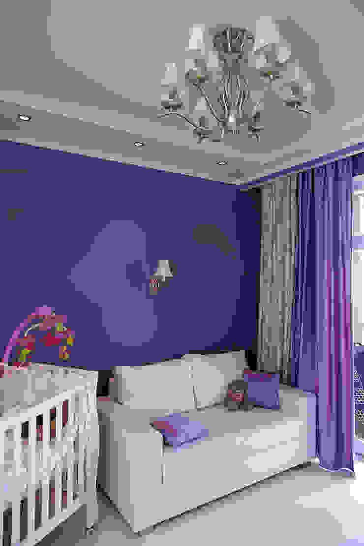 Dormitorios infantiles de estilo clásico de Архитектурная студия Сенчугова Алексндра Clásico