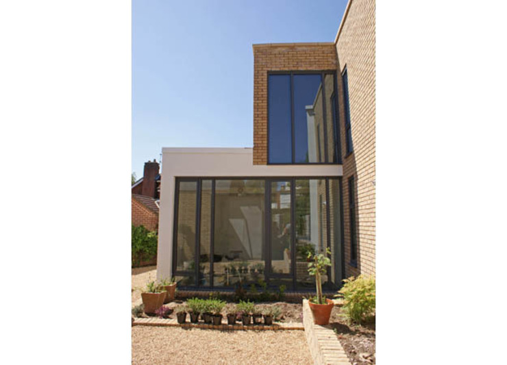 'Windrush' Derbyshire Modern houses by Rayner Davies Architects Modern