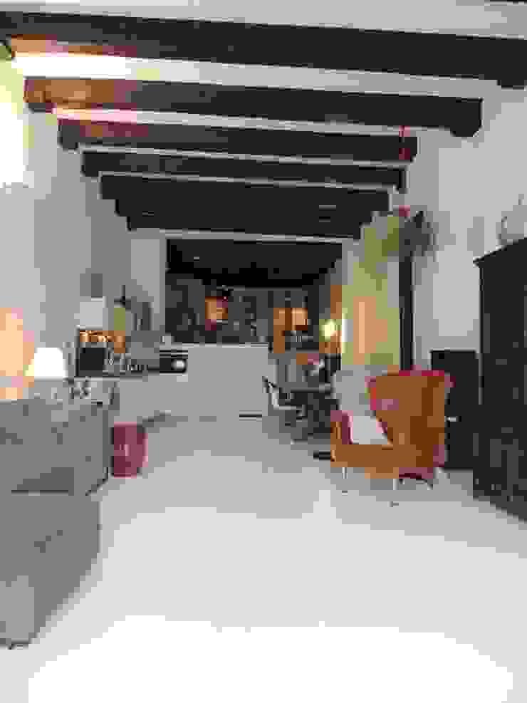 Witte gietvloer Moderne keukens van Design Gietvloer Modern