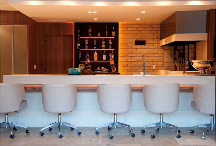 Residência de Praia - Atlântida/RS Arquitetura INN Cozinhas modernas