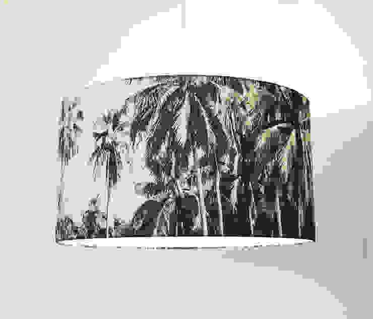 TROPEN Lampenschirm Ø 60 cm Höhe 30 cm von LUMINÖS leuchten Tropisch