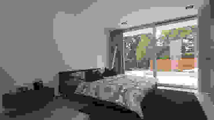 Modern style bedroom by Lab32 architecten Modern