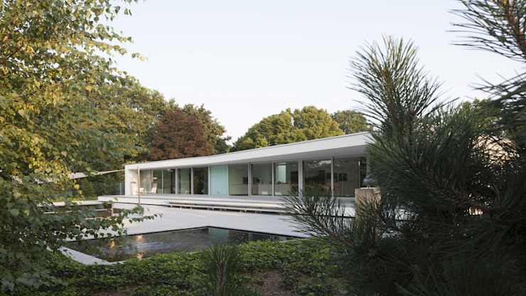 Eigentijdse bungalow Moderne huizen van Lab32 architecten Modern