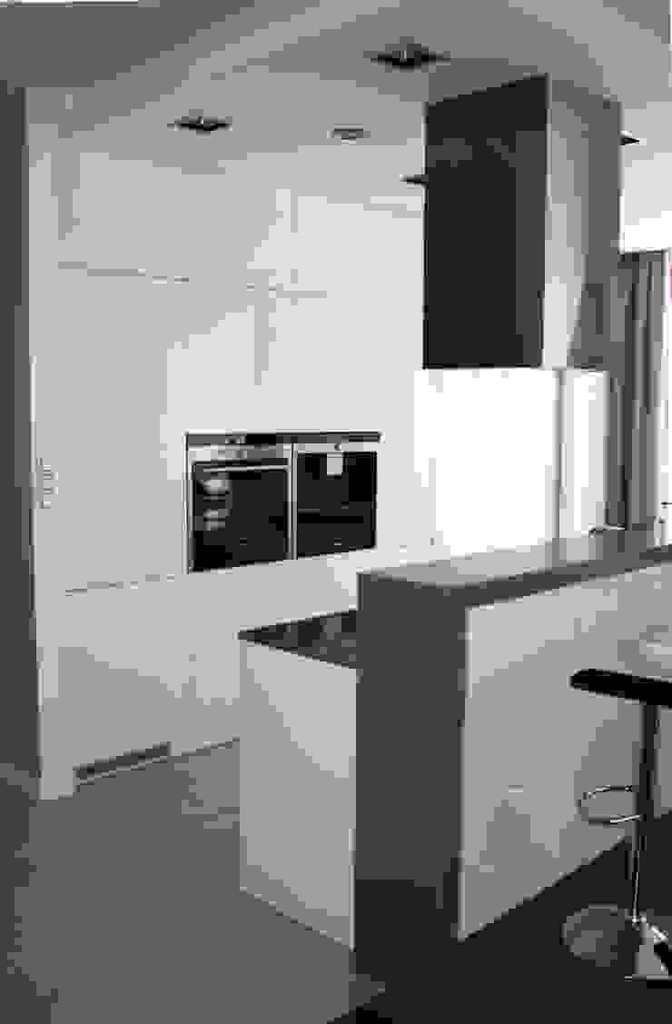 Apartament Warszawa Murano I od ABC kuchnie Minimalistyczny