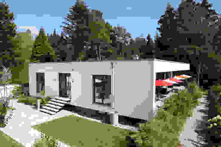 ミニマルな 家 の 2P-raum® Architekten ミニマル