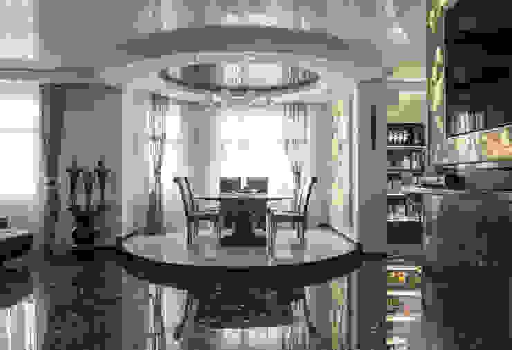 Гостинная Столовая комната в классическом стиле от Studio Design-rise Классический