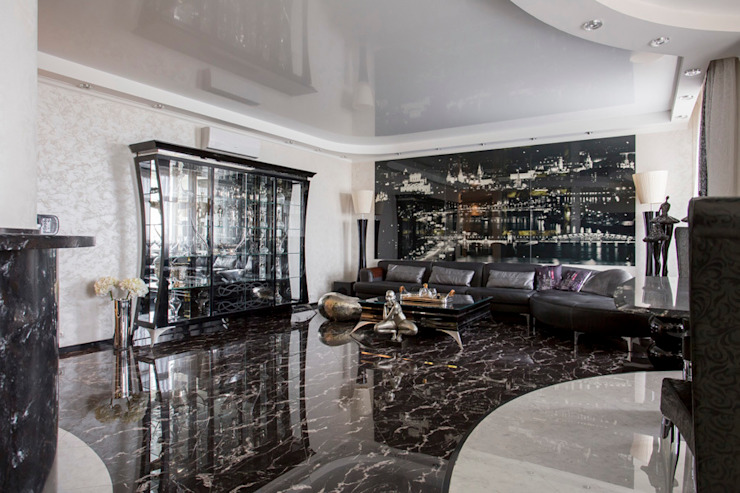 Гостинная Гостиная в классическом стиле от Studio Design-rise Классический