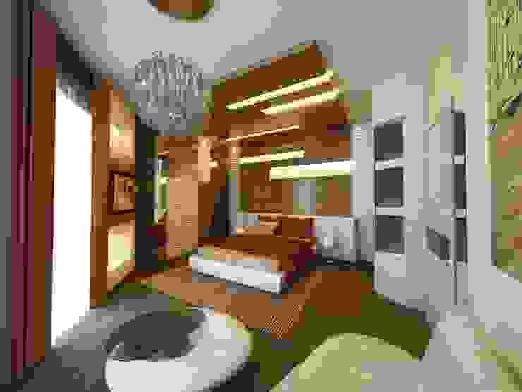 Спальня Спальня в классическом стиле от Studio Design-rise Классический