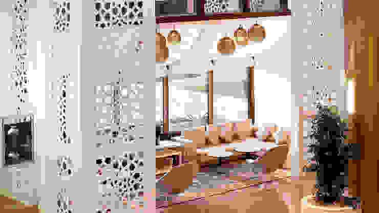 Le Meridian Al Khobar Hotel por Moroccan Bazaar Mediterrânico