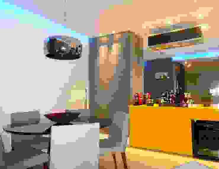 Sala de jantar Salas de jantar modernas por Lúcia Vale Interiores Moderno