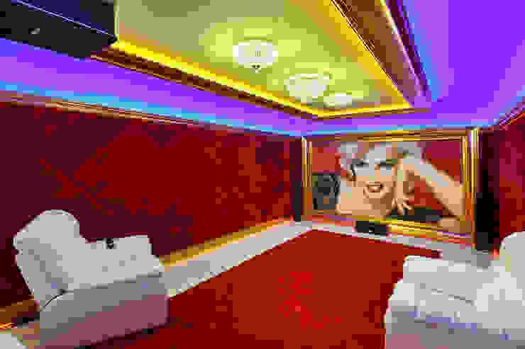 Дом в Песочном Медиа комната в стиле модерн от Privilege Design Модерн