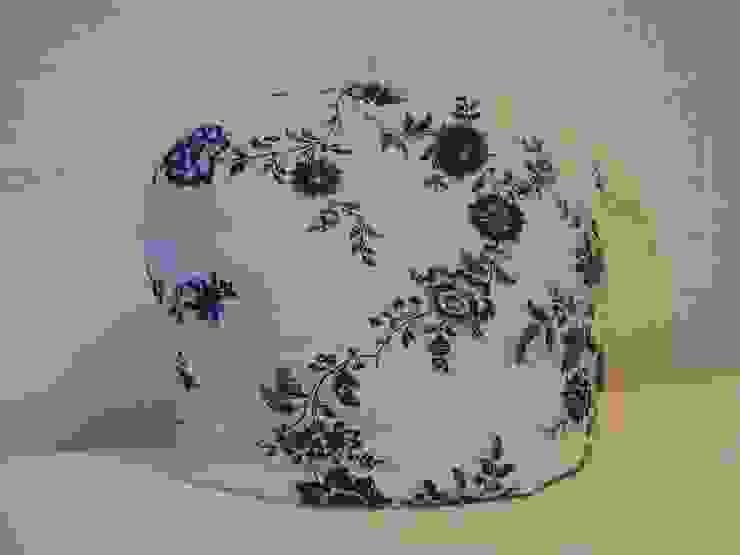 Theemuts met blauwe bloemen van Leonietje's Landelijk