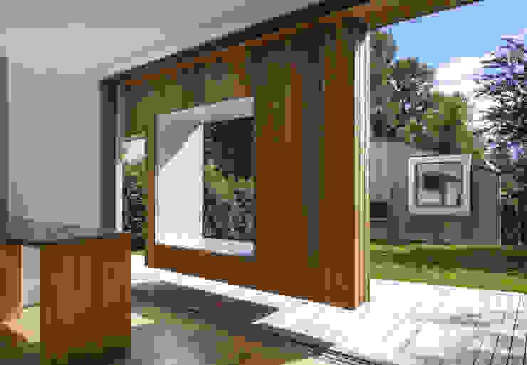 Cut & Frame House Modern houses by Ashton Porter architects Modern