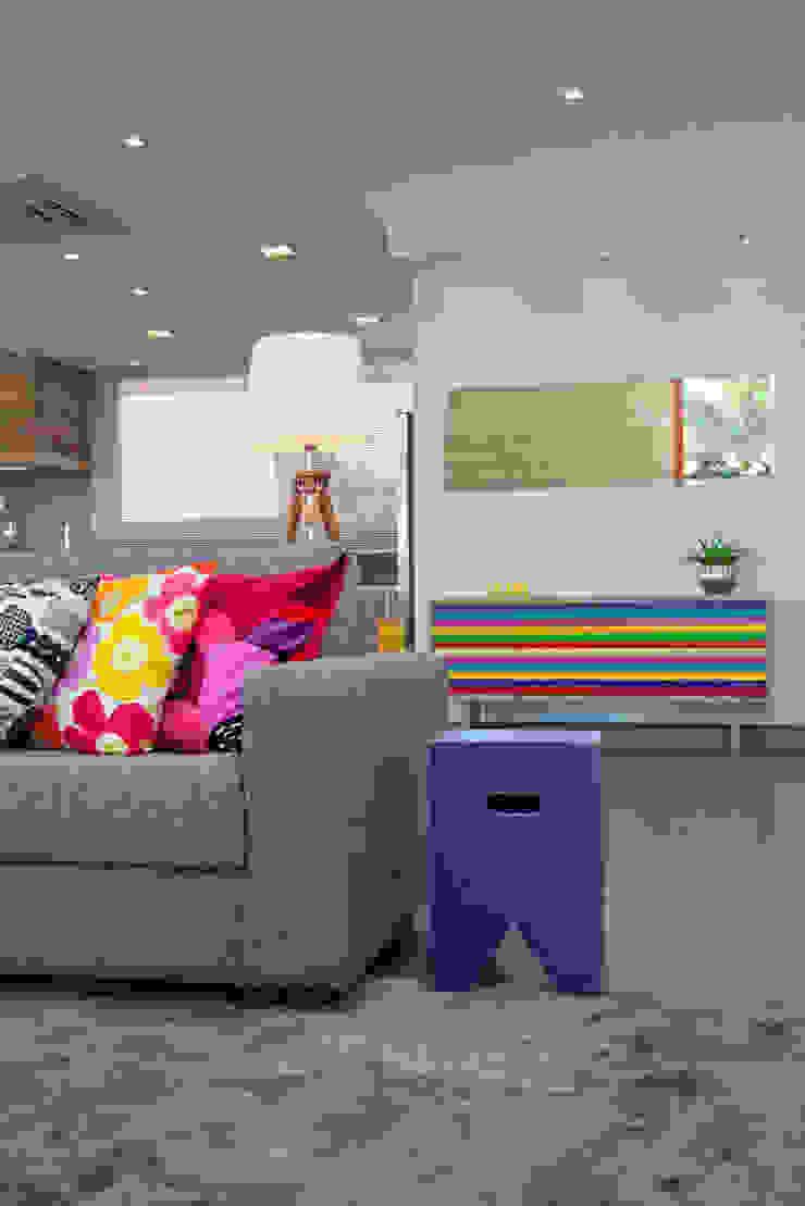 Casa Imbé Salas de estar modernas por Carina Fraeb Arquitetura Moderno