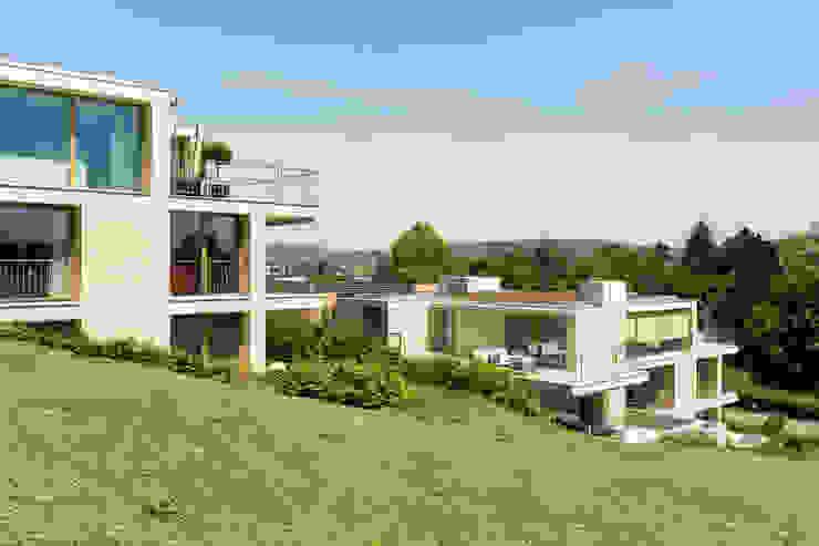 Casas de estilo  de Savioni Kuithan Architekten GmbH, Moderno