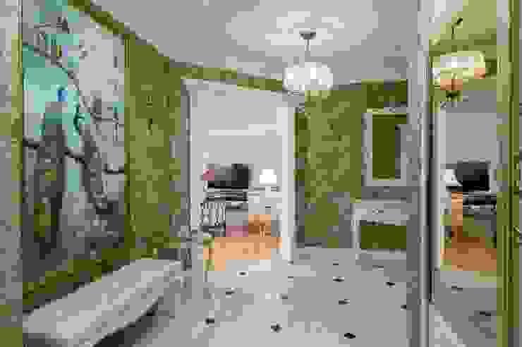 Квартира в Москве 166 кв. м. Коридор, прихожая и лестница в колониальном стиле от MM-STUDIO Колониальный