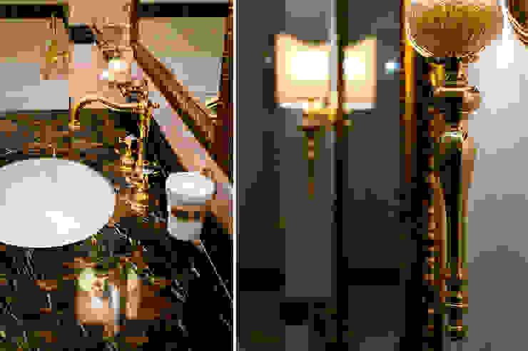 Квартира в Москве 166 кв. м. Ванная в колониальном стиле от MM-STUDIO Колониальный