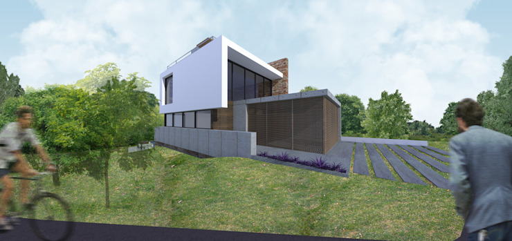 Casa Loft Casas modernas por K+S arquitetos associados Moderno