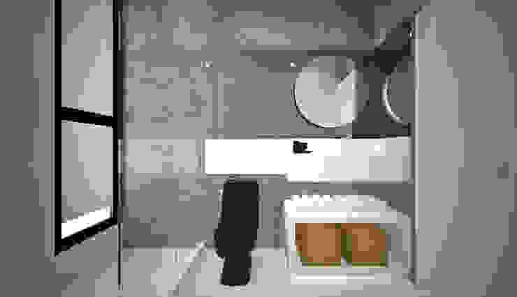 Casa Loft Banheiros modernos por K+S arquitetos associados Moderno