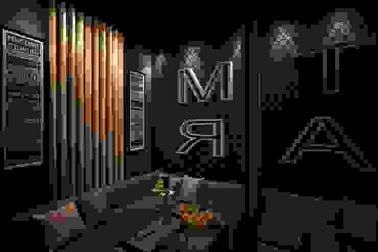 кальян-бар <q>Мята</q> Бары и клубы в эклектичном стиле от INHOUSE Эклектичный