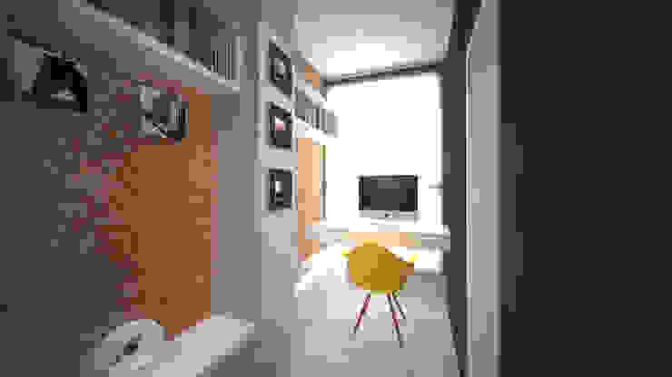 Casa Loft por K+S arquitetos associados Moderno