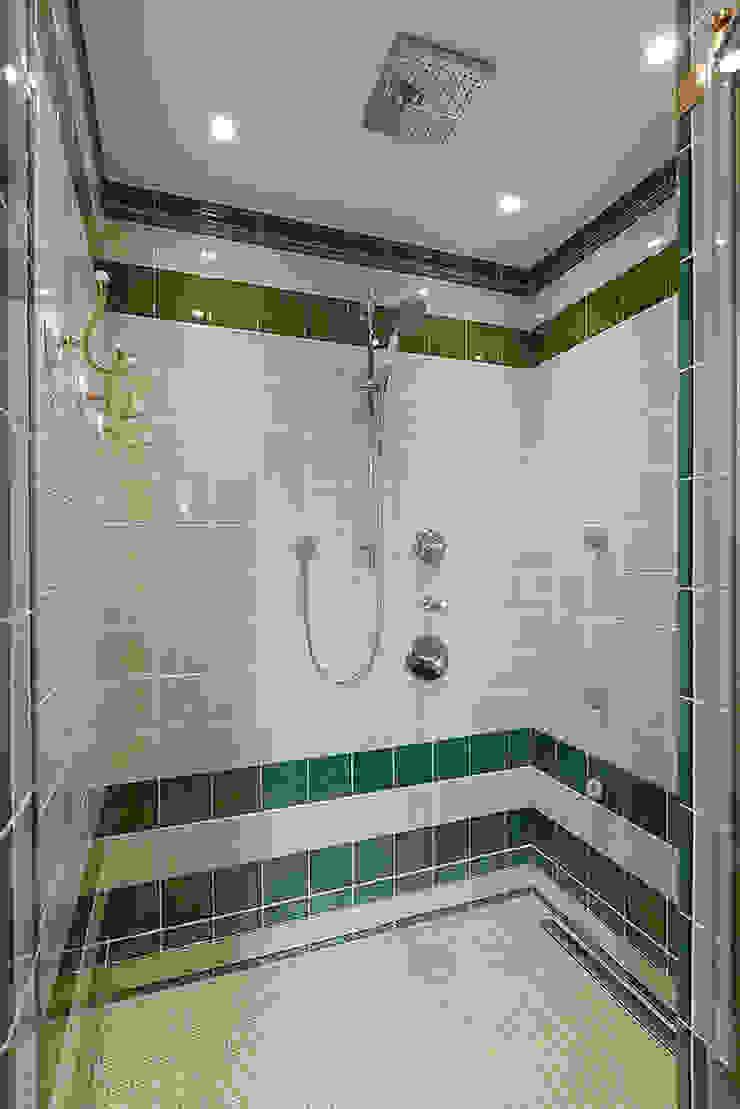 Ванная комната. Душевая. Ванная комната в эклектичном стиле от KRAUKLIT VALERII Эклектичный
