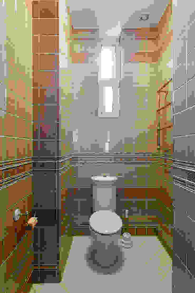 Гостевой туалет. Ванная комната в эклектичном стиле от KRAUKLIT VALERII Эклектичный
