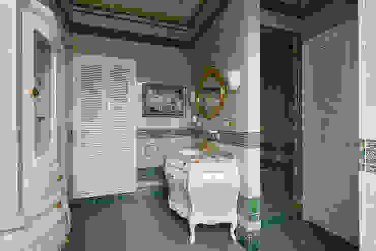 Ванная комната. Ванная комната в эклектичном стиле от KRAUKLIT VALERII Эклектичный