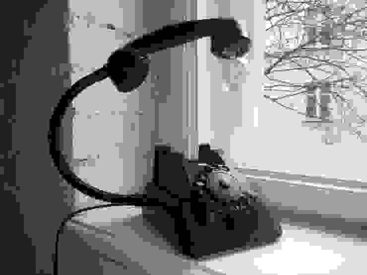 teleLAMPAfon - bLACK Chevy 62' od RefreszDizajn Industrialny