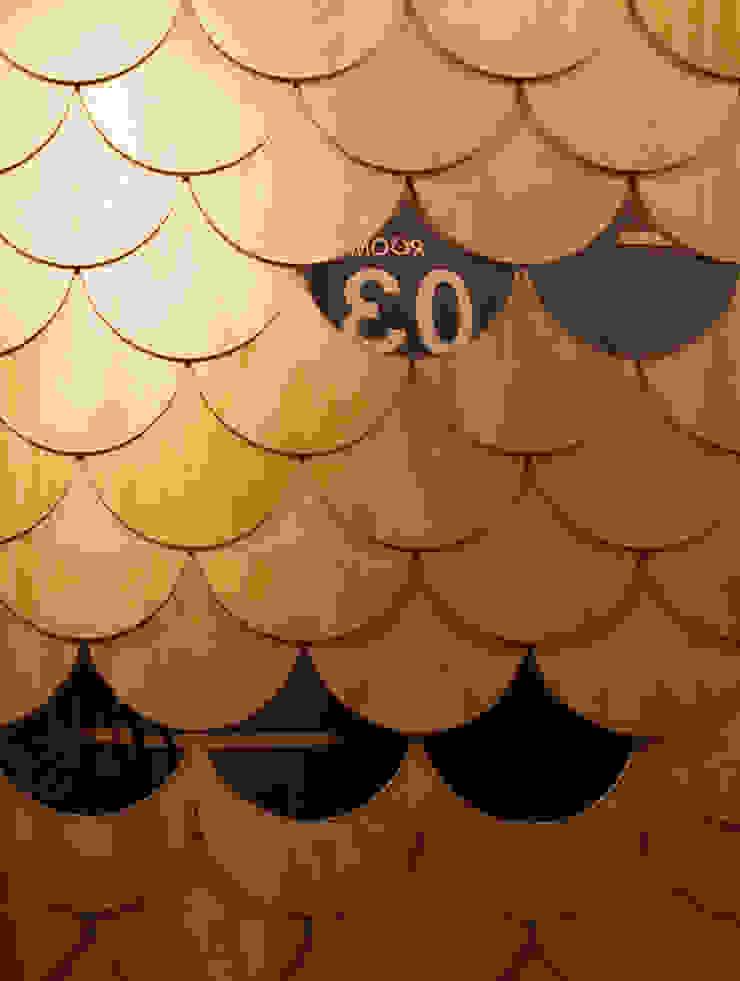패턴 아시아스타일 벽지 & 바닥 by W.H.A.I LAB 한옥