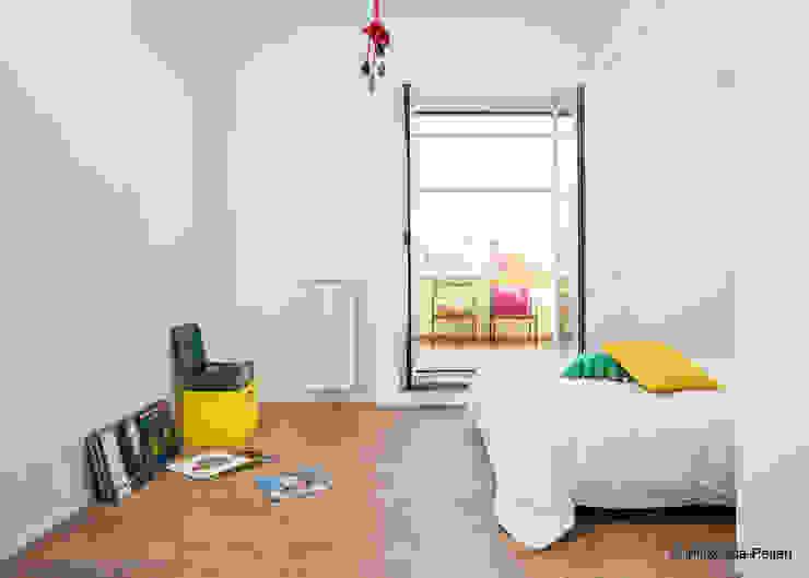CASA DI ROSARIO Camera da letto minimalista di Maurizio Giovannoni Studio Minimalista
