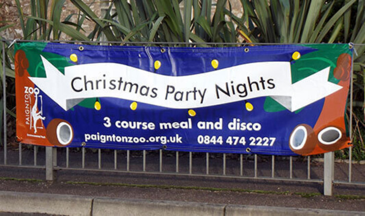 Christmas PVC Banners to Wish Everyone a Very Merry Christmas and Spread Holiday Cheer by Banner Buzz