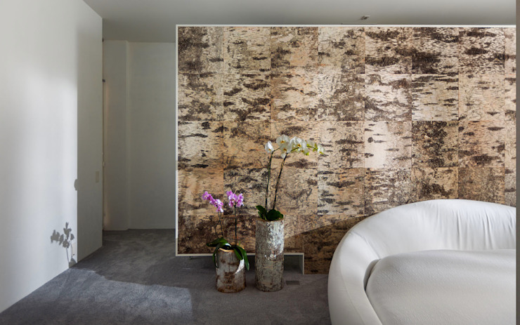 Лофт с характером Спальня в стиле лофт от Samarina projects Лофт