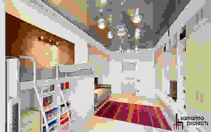 Квартира для современной семьи Детская комнатa в стиле минимализм от Samarina projects Минимализм