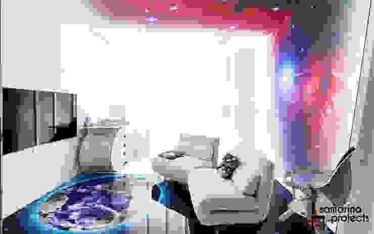 Лофт с характером Детская комната в стиле лофт от Samarina projects Лофт