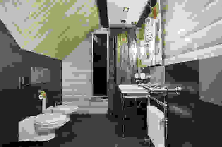 Сруб – Рубим по-новому Ванная комната в рустикальном стиле от Samarina projects Рустикальный