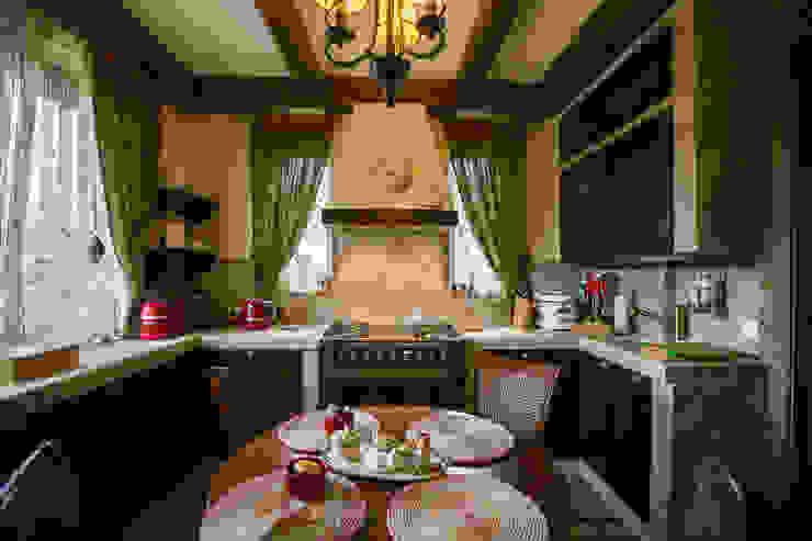 Dapur oleh Студия интерьерного декора PROSTRANSTVO U, Country