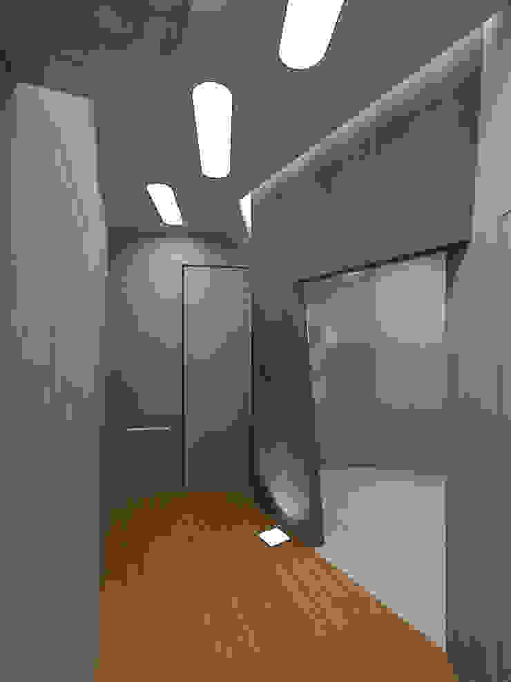 Прихожая Коридор, прихожая и лестница в стиле минимализм от (DZ)M Интеллектуальный Дизайн Минимализм
