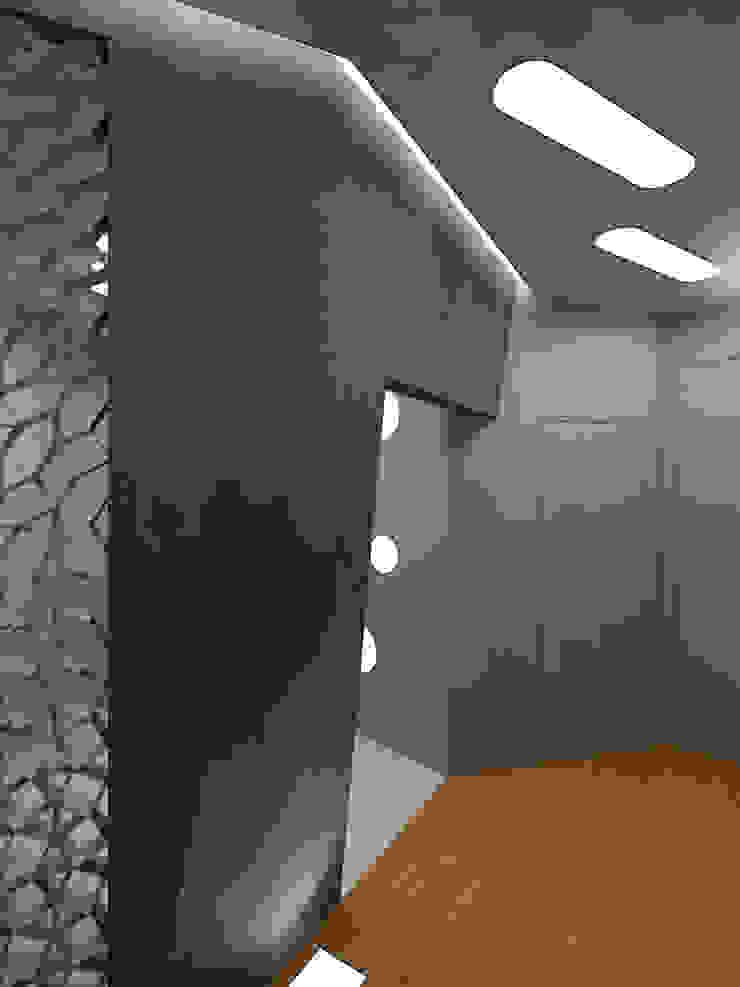 VV2 Коридор, прихожая и лестница в стиле минимализм от (DZ)M Интеллектуальный Дизайн Минимализм