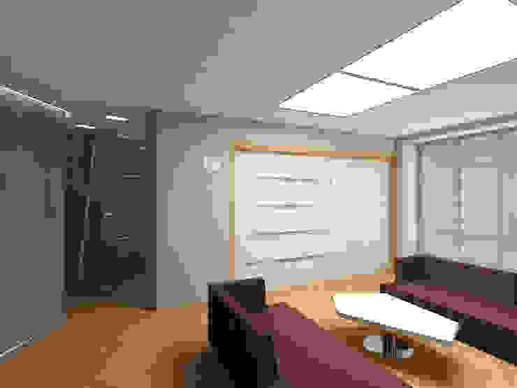 Гостиная Гостиная в стиле минимализм от (DZ)M Интеллектуальный Дизайн Минимализм
