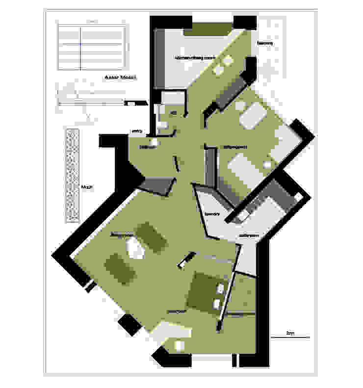 План квартиры от (DZ)M Интеллектуальный Дизайн