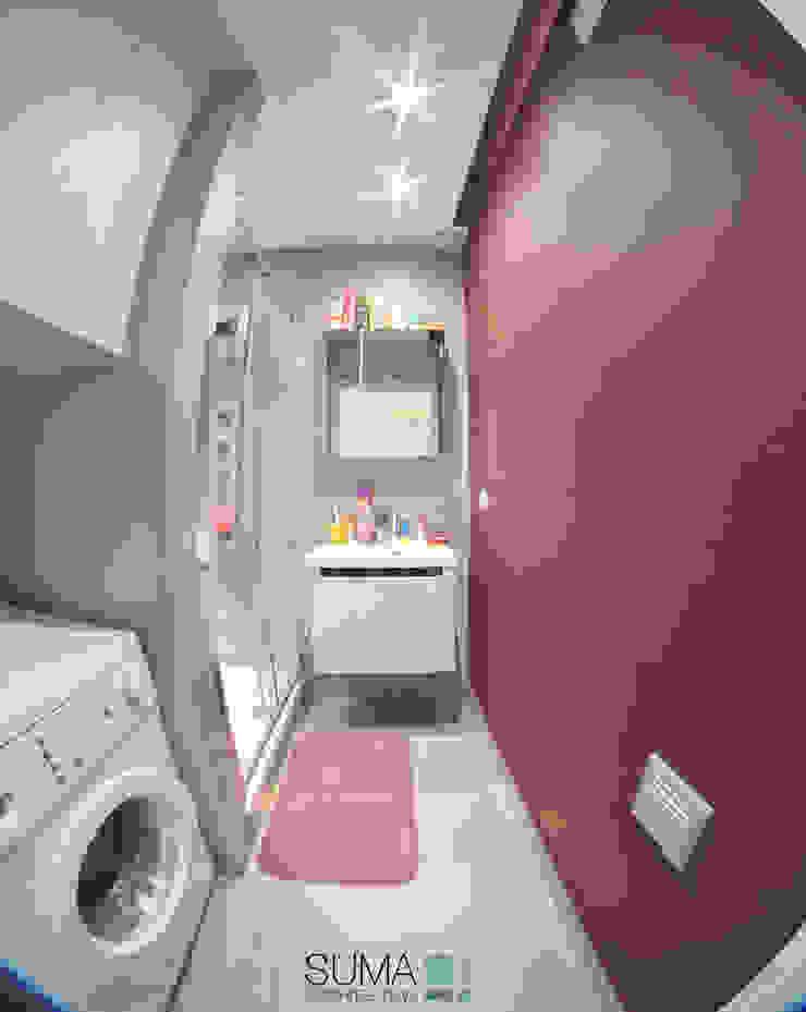 FAMILY_ONE Nowoczesna łazienka od SUMA Architektów Nowoczesny