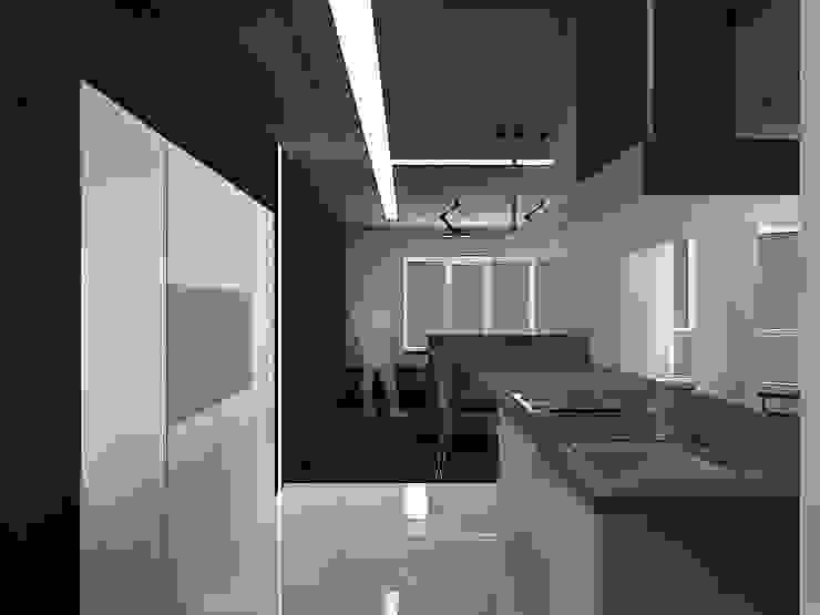 (DZ)M Интеллектуальный Дизайн Cocinas de estilo minimalista