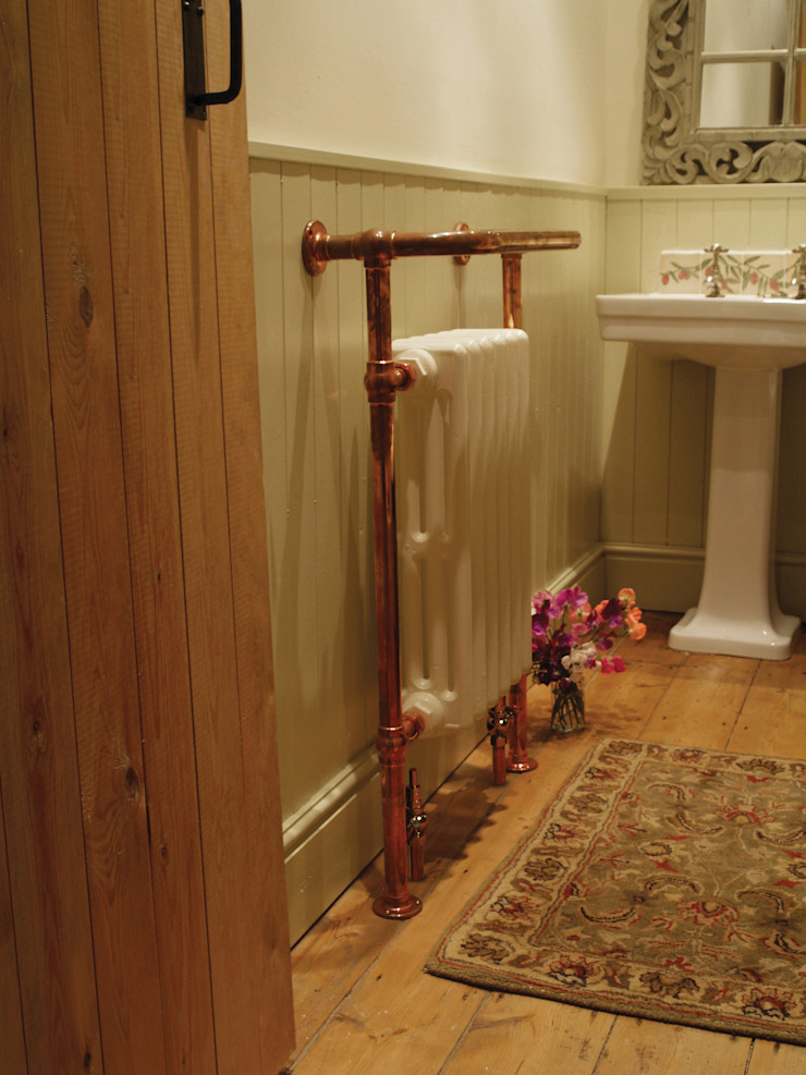 Carron Broughton Bathroom Towel Rail in Copper : classic  by UKAA   UK Architectural Antiques , Classic