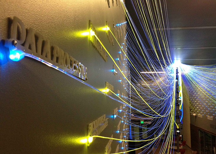 Filament Mind 모던스타일 거실 by Yong Ju Lee Architecture 모던